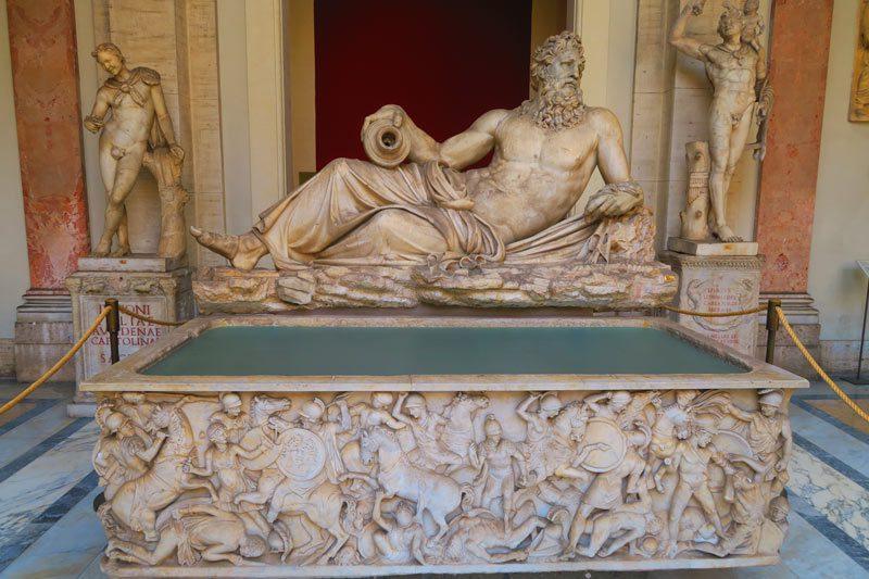 Pio-Clementino Museum - Vatican Museum - Rome - sarcophagus 2