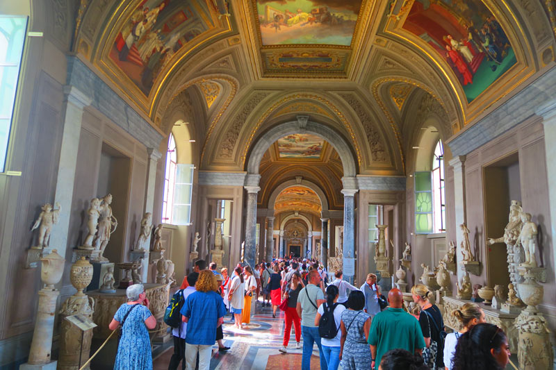 Pio-Clementino Museum - Vatican Museum - Rome - scuplture gallery