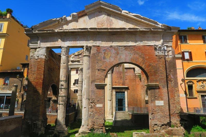 Portico of Octavia - Roman ruins