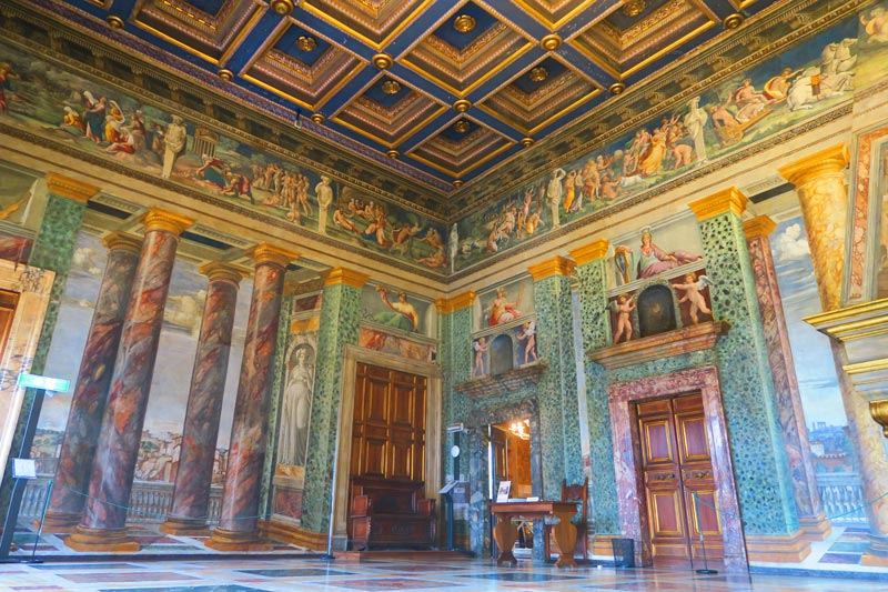 Room of the Frieze - Villa Farnesina - Rome