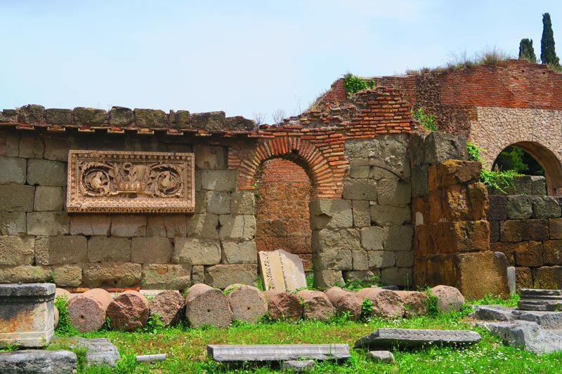 Ruins at the Roman Forum - Rome