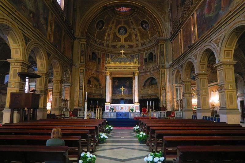 San Lorenzo in Damaso - Rome Church