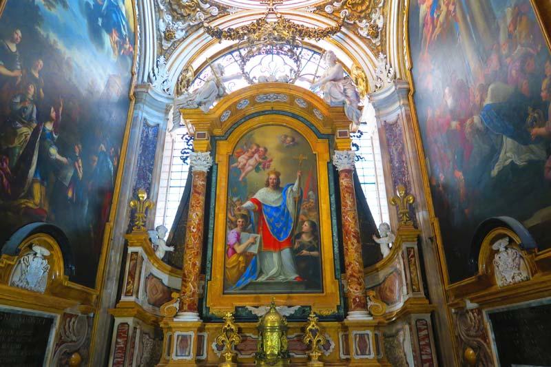 San Luigi dei Francesi - altar