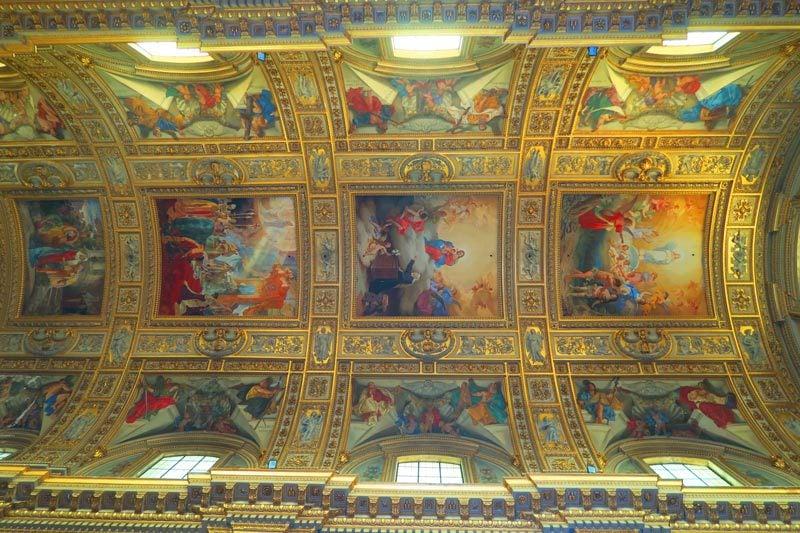 Sant'andrea Della Valle - Rome church - ceiling