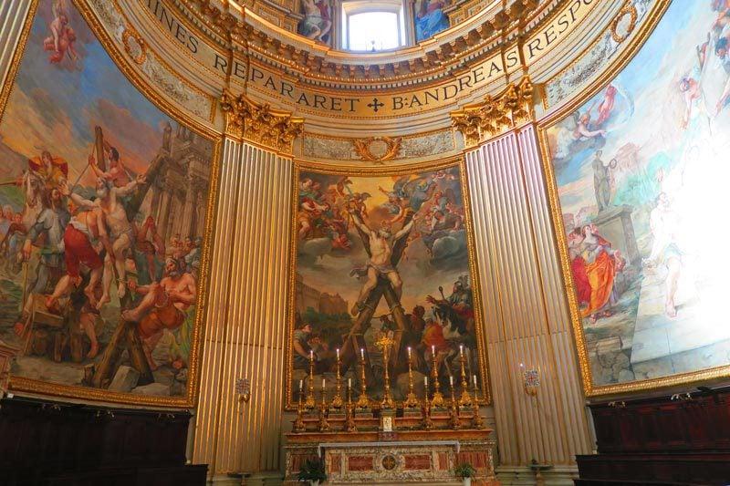 Sant'andrea Della Valle - Rome church - painting
