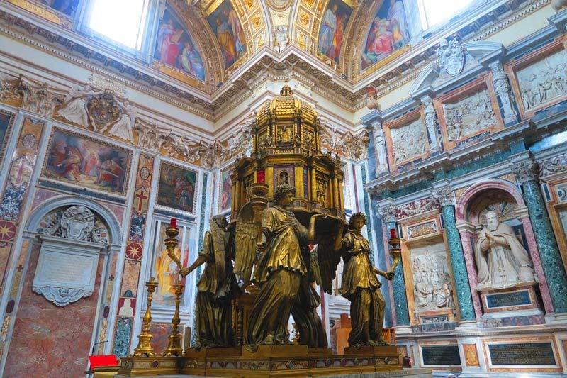 Santa Maria Maggiore- Rome Church - sistine chapel