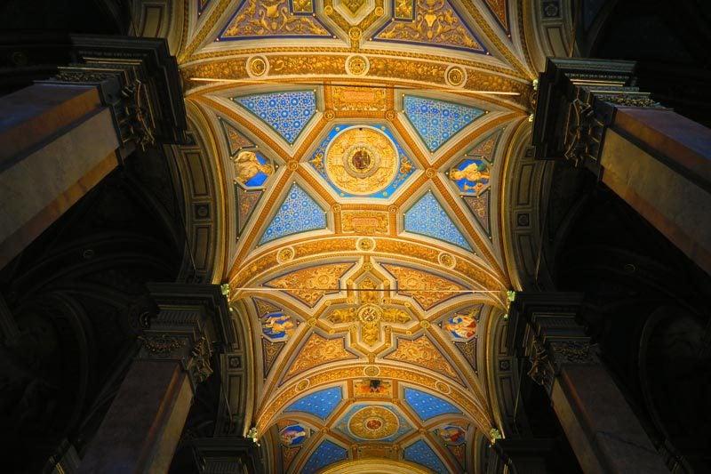 Santa Maria dell'Anima - Rome church - ceiling