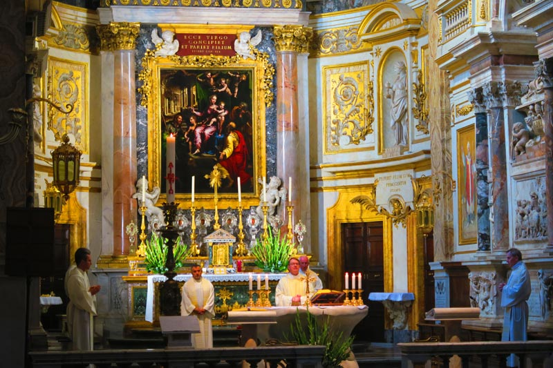 Santa Maria dell'Anima - altar - Rome church