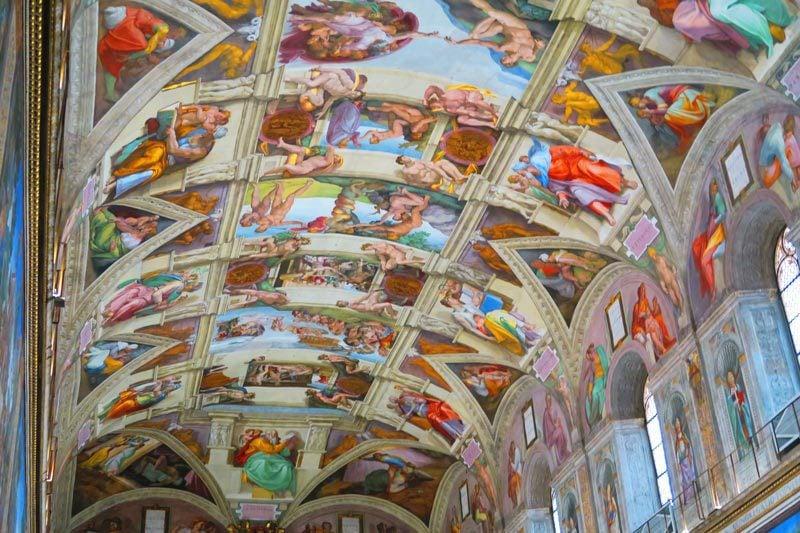 Sistine Chapel 1 - Vatican Museums - Rome