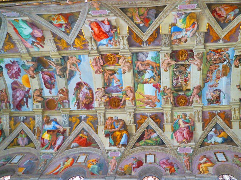 Sistine Chapel 2 - Vatican Museums - Rome