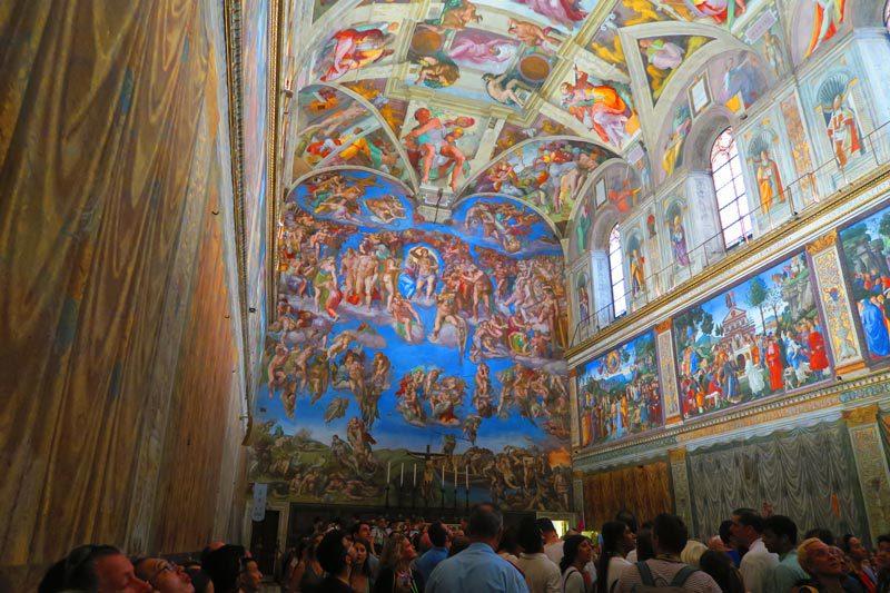 Sistine Chapel 3 - Vatican Museums - Rome