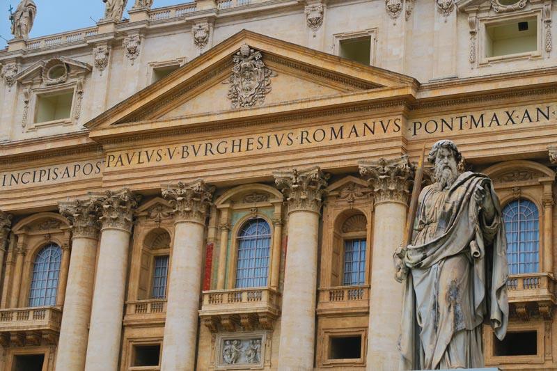 St. Peter's Basilica- Pope's balcony