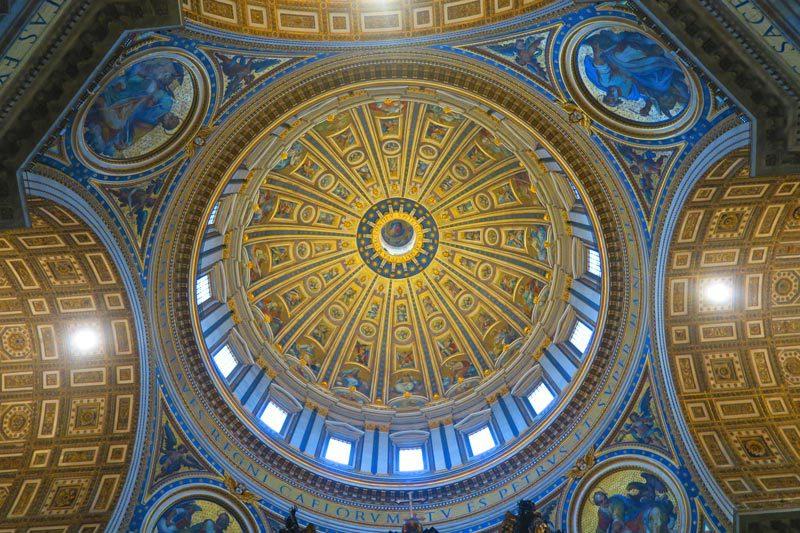 St. Peter's Basilica- Vatican - Rome - Dome 1