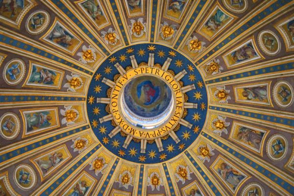 St. Peter's Basilica - Vatican - Rome - Dome 2
