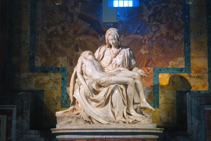 St. Peter's Basilica- Vatican - Rome - Michaelangelo's Pieta