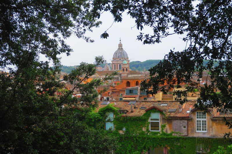 Terrazza Viale del Belvedere - Villa Borghese Park - Rome