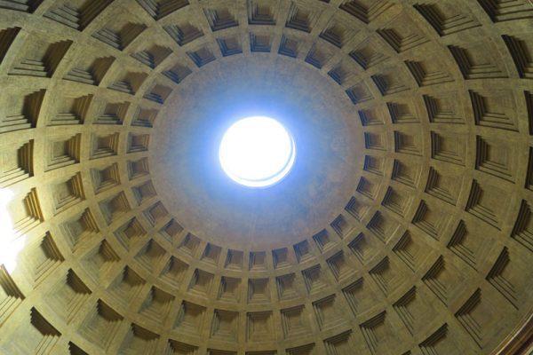 The Pantheon Rome oculus
