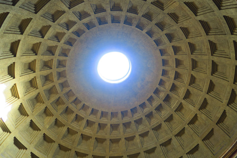 The Pantheon Rome oculus