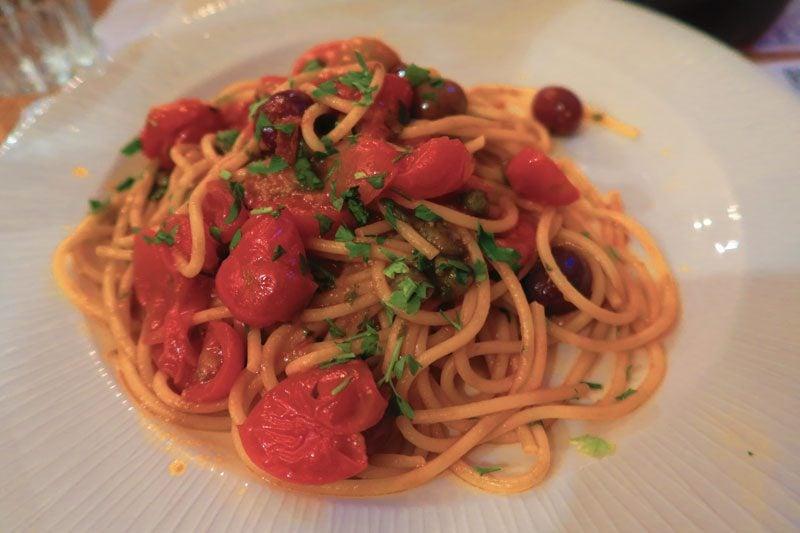 Trattoria Vecchia Roma - Rome best Restaurant - pasta
