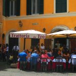 Trattoria in Trastevere Rome