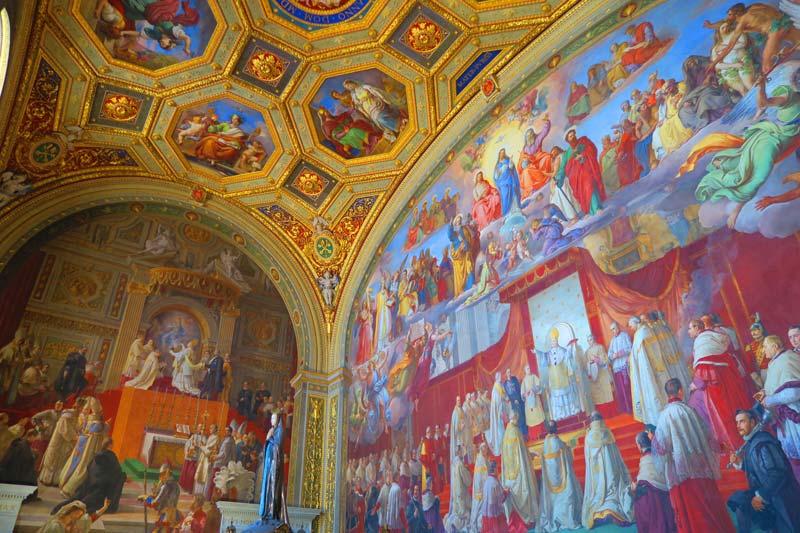 Vatican Museums - Rome - Raphael Rooms 1