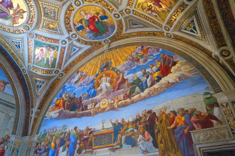Vatican Museums - Rome - Raphael Rooms 3