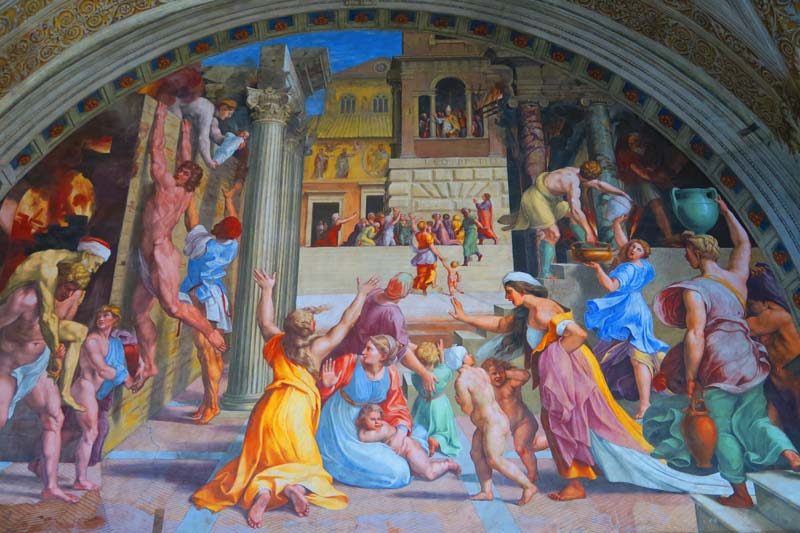 Vatican Museums - Rome - Raphael Rooms 4