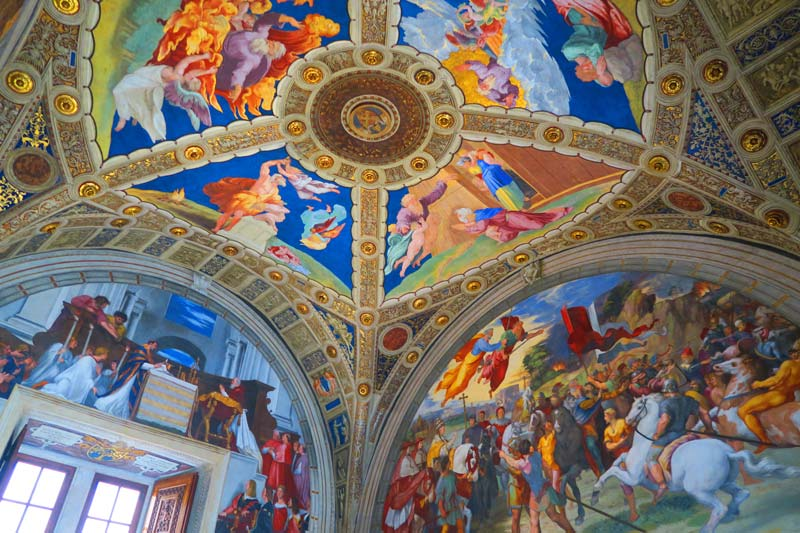Vatican Museums - Rome - Raphael Rooms 5