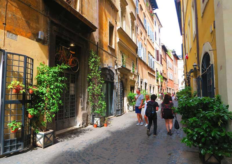 Via dei CoronariRome historic center 2