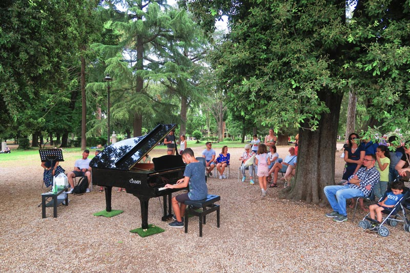 Villa Borghese Rome Park