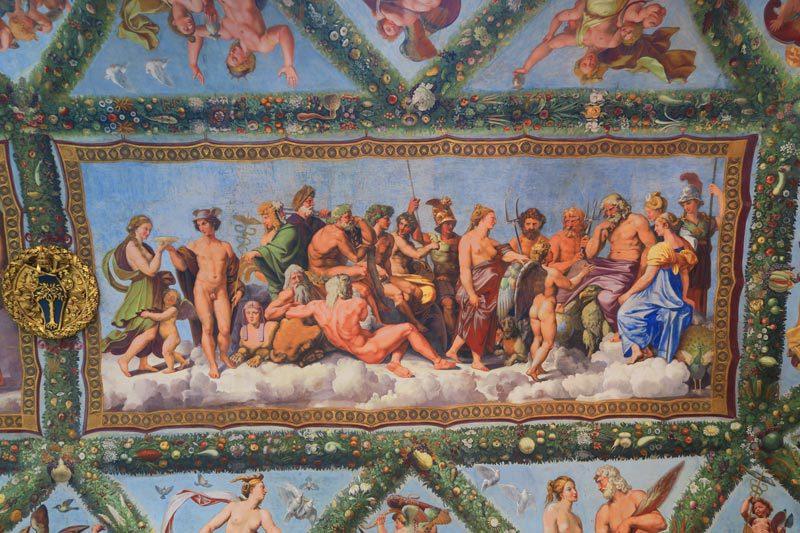 Villa Farnesina - Rome - Loggia of Cupid and Psyche