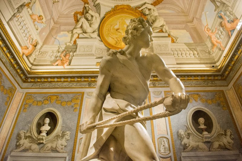 Galleria Borghese- best museums in Rome - sculpture
