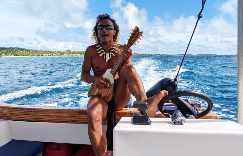 Didier lagoon tour bora bora French Polynesia