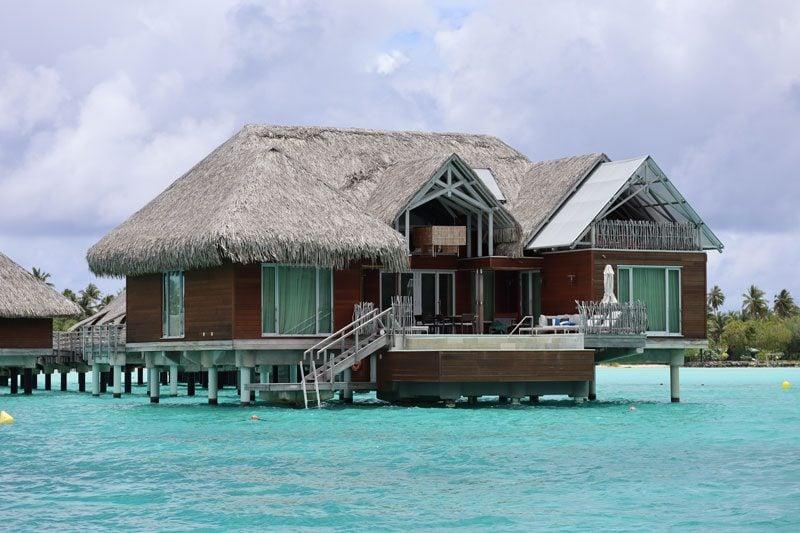 Intercontinental Thalasso Spabora bora overwater bungalows