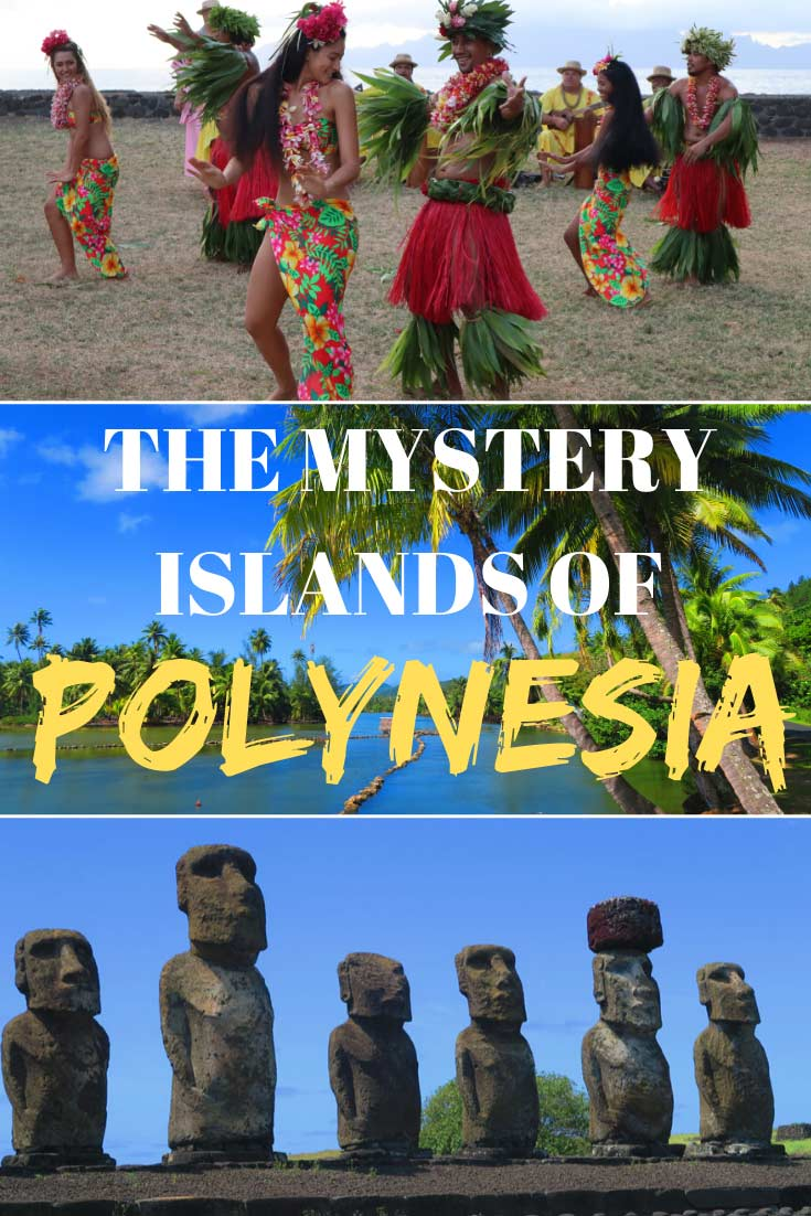 The Mystery Islands of Polynesia PIN