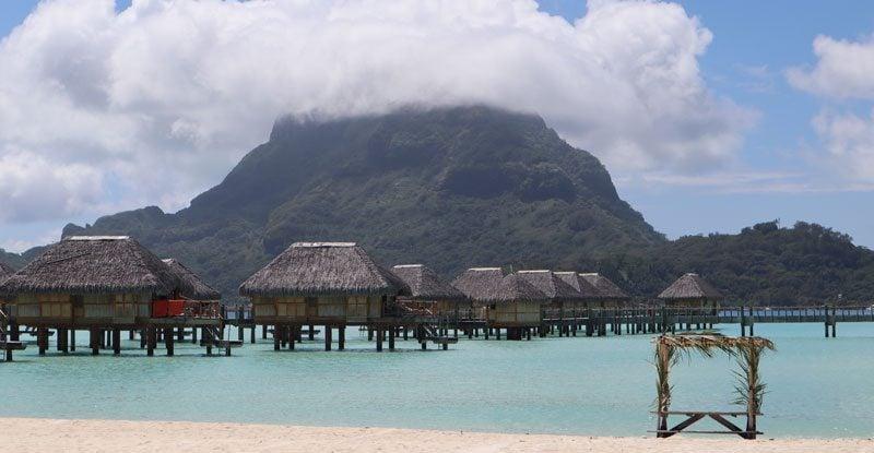 Where to stay in Bora Bora - Pearl Beach panoramic view