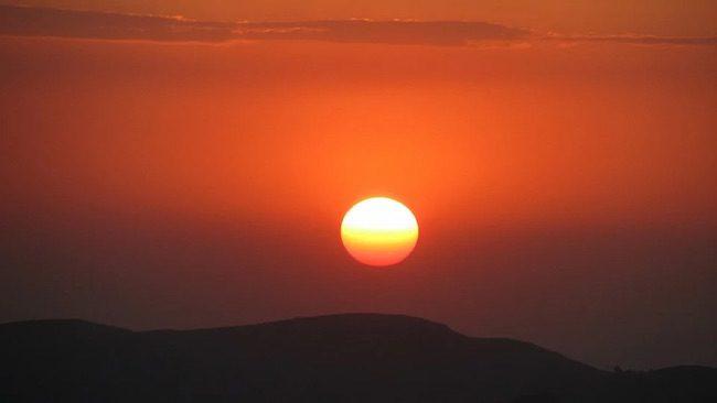 sunset in ethiopia