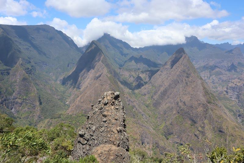 Cap Noir hike - Reunion Island - Roche Verre Bouteille