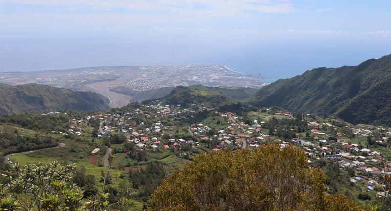 Cap Noir hike - Reunion Island - dos dane