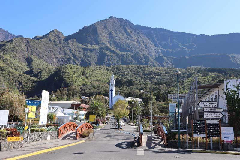 Cilaos town center - Reunion Island