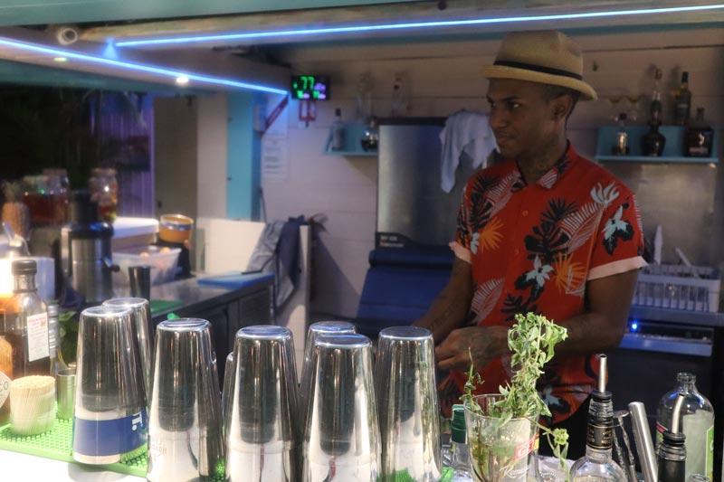 Copacabana - Reunion Island beach bar