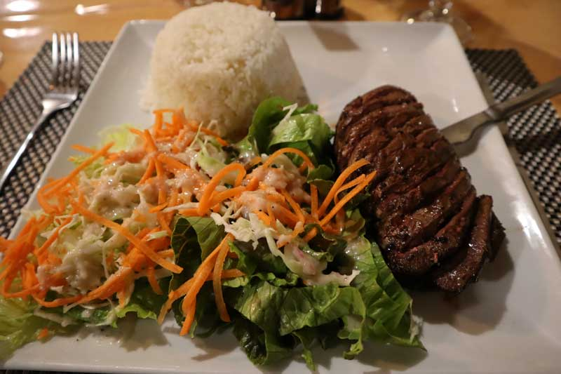 Dinner at Chez Lucay - Cilaos - Reunion Island