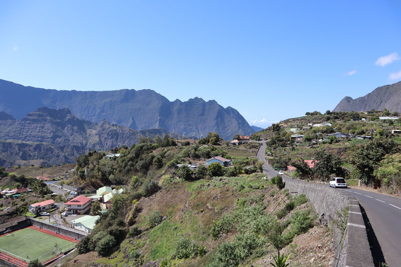 Entering Ilet a Cordes from Cilaos - Reunion Island