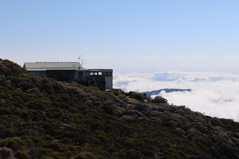 Gite de la Caverne Dufour - Piton des Neiges hike overnight cabin - Reunion Island