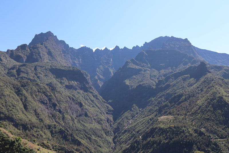 Grand Benare and Piton des Neiges - Reunion Island