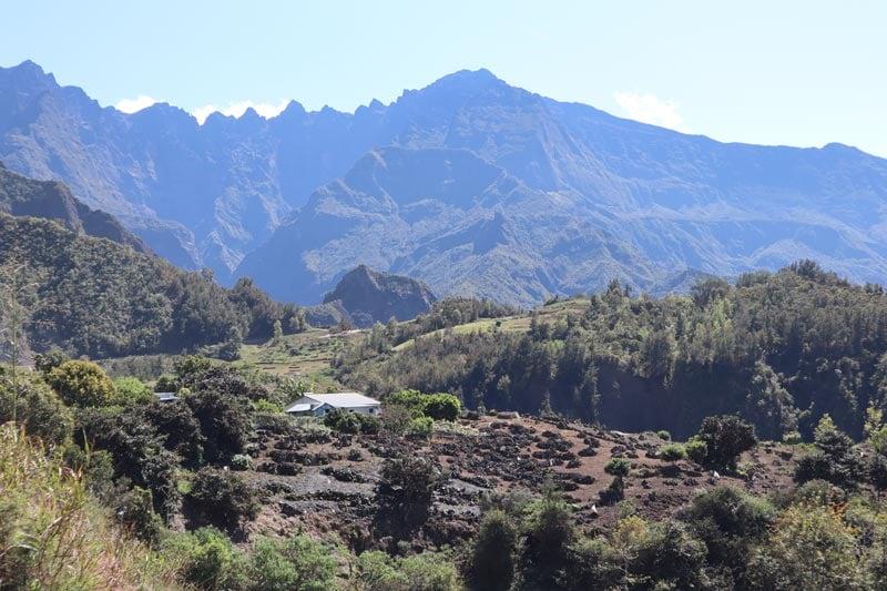 Ilet a Cordes - Reunion Island - view of Piton des Neiges