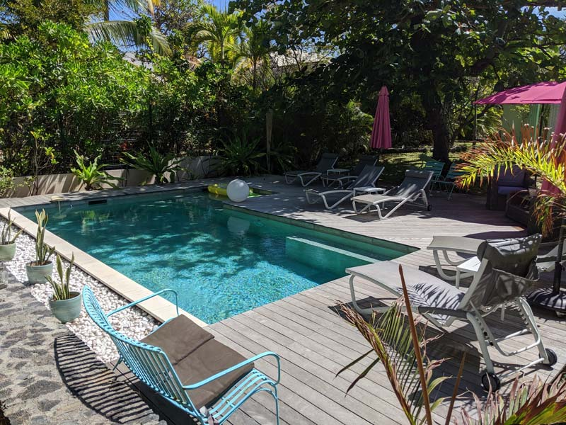 La Villa de la Plage - Reunion Island - pool area