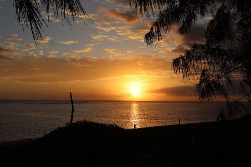 La Villa de la Plage - Reunion Island - sunset