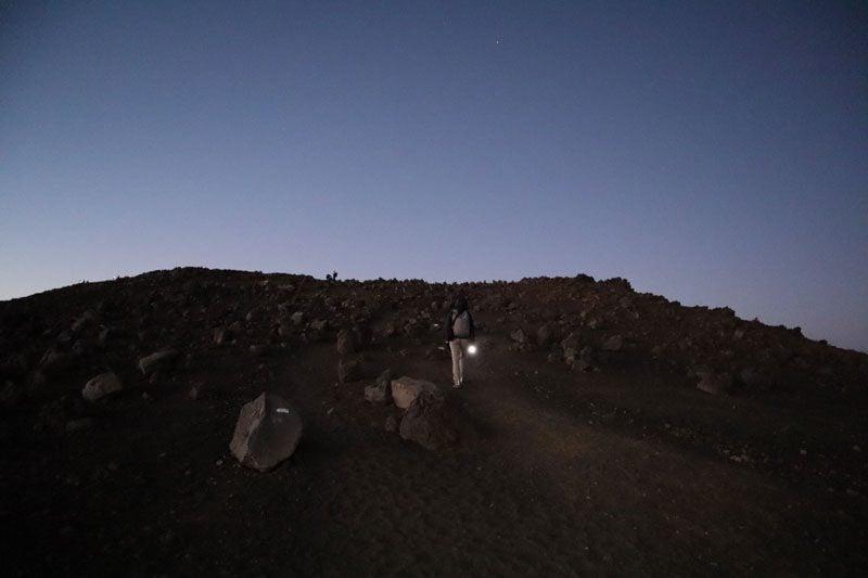 Piton des Neiges hike - Reunion Island - mars like terrain