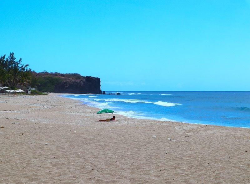 Plage de Boucan Canot - Reunion Island
